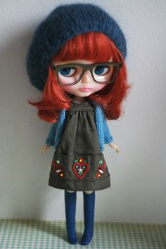 IF i liked dolls, I would be so into Blythe, I'd have a huge collection! But dolls are for kids.
