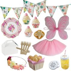 Today we are showing you our Must Have Fairy Party Supplies to help you celebrate a magical Fairy Party for your girl! check out our Fairy Party ideas! Fun Party Themes, Kids Party Decorations, Party Ideas, Fairy Birthday Party, Birthday Party Themes, Girl Birthday, 10th Birthday, Birthday Ideas, Butterfly Birthday