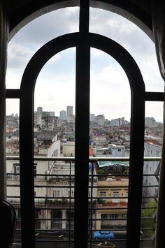 View from my room at the Hotel Parque Central, Havana, Cuba