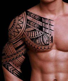 Cool Samoan Tattoo Designs For Men