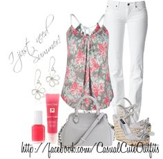 """""""Summer..."""" by sweetlikecandycane on Polyvore"""