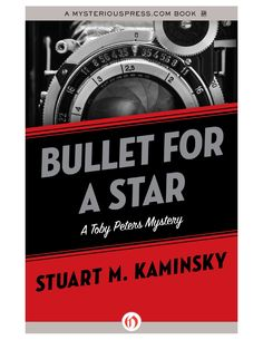 Bullet for a Star by Stuart M. Kaminsky Bk 1 in the Toby Peters series(1977) involving Errol Flynn and a blackmailer.  I first read this series back in the 80s & loved them - set in the 1940s filled with eccentric characters & a lot of celebrity name dropping. It is a May 2013 monthly deal for 2.99 which is 1.00 more than I want to spend on it but for 2.99 more I can get the Audibles download which is how I'ma gonna justify my purchase! Generally this series run close to $8 for the ebook.