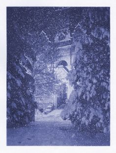 Brigham Young High School Winter Evening - 1926