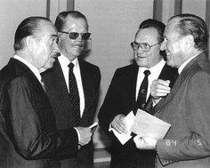 Galland,Johannes Steinhoff ,Krupinsky, Rall,  Más de 750 aviones derribados entre los 4