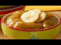Doce de Banana sem Açúcar (Receitinha da Roça). - YouTube Low Carb, Pudding, Desserts, Bananas, Diabetes, Youtube, Fruit Jam, Peanut Butter, Roasted Vegetables