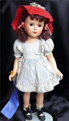 Vintage Blue Ribbon 1946-47 Madame Alexander Margaret O'Brien Composition Doll | eBay