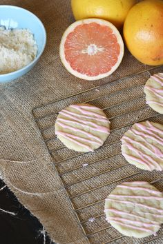 Everyday Reading - Practical Family Living for Book Loving Parents: Grapefruit Sugar Cookies Grapefruit Recipes Dessert, Dessert Recipes, Grapefruit Ideas, Sugar Cookie Dough, Sugar Cookies Recipe, Cookie Recipes, Just Desserts, Delicious Desserts, Biscuits