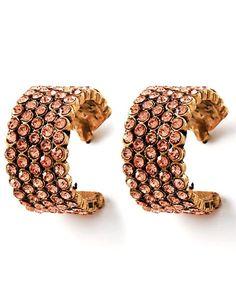 {Semi-Annual Sale} Topaz Glow Earrings