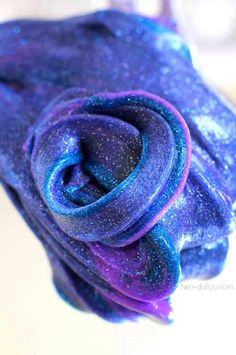 REALLY AWESOME AND EASY TO MAKE Galaxy Slime!!!!(: #Various #Trusper #Tip
