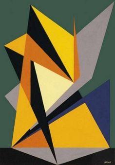 Situazione di contrasto by Gualtiero Nativi, 1947, 38 x 26.5 cm | FerrarinArte