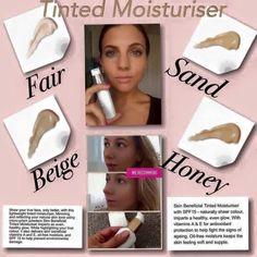 Love our moisturiser, use to wear bare minerals no thanks love nuskin X