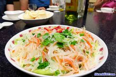 Shredded Potato w/ Vinegar #Taiwan #food 醋溜土豆絲