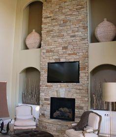 19 best stone fireplace ideas images fireplace ideas stone veneer rh pinterest com Faux Stone Fireplace Ideas Stone Fireplace Hearth Ideas
