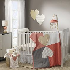 Lambs and Ivy Dawn Crib Bedding Collection
