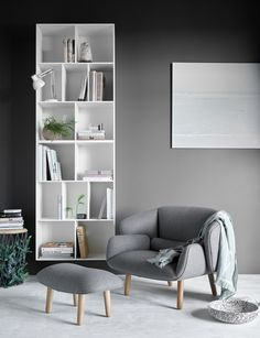 Display the books, lamps etc. in your reading corner