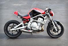 Kawasaki Ninja 650R 2007 by Kustom Research