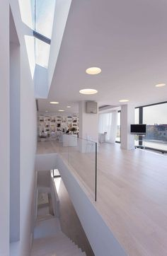 Modern three-storeyresidencesituated in Bucharest, Romania. It was designed for a young family bySYRAAin 2014.