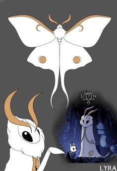 Creepy Drawings, Oc Drawings, Cute Animal Drawings, Cute Drawings, Fantasy Creatures, Mythical Creatures, Character Concept, Character Design, Cute Moth