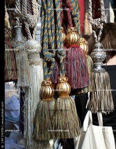 Decorative+Tassels | Decorative tassels for curtains, London, UK.