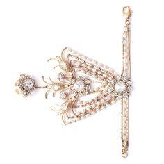 The Royal Bloom Hand Harness For more, visit bandbaajaa.com