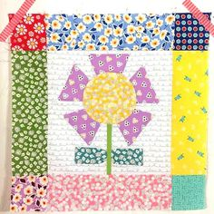 Jina's World Of Quilting: Block 1 of Lori Holt's Bloom Sew Along featuring Penny…