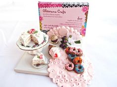Handmade Miniature Sweet Food Business Card Holder £13.00