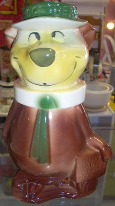 Vintage American Bisque Yogi Bear Cookie Jar