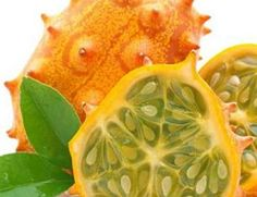 Ótimos benefícios do kino ou kiwano... O fruto Kino, também conhecido por Kiwano ou Pepino Africano, traz ótimos benefícios para a nossa saúde e é excelente para o emagrecimento. É um fruto comestível de sabor agridoce, que pode ser consumido como sobremesa. Kino é uma fruta exótica, ainda pouco conhecida no Brasil.