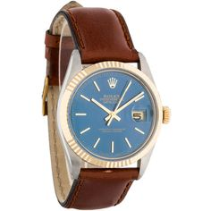 Pre-owned Rolex Two-Tone Datejust Watch