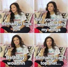 BETHANY!! <3 <3