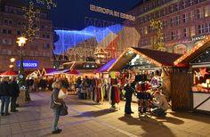 Weihnachtsmarkt in Essen, Willy-Brandt-Platz