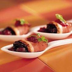 Eendeborst pruimen sherry Tapas, Food Art, Food Inspiration, Panna Cotta, Recipies, Snacks, Appetizers, Low Carb, Menu