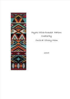 Peyote Stitch Odd Count Beading Pattern by SusieatSilveryMoon
