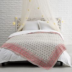 Add a Parisian touch to any room's decor with the Pari Tapestry. Adorned with a beautiful print in soothing grey and coral hues, the 100% woven cotton tapestry serves as a great accent piece for a wall, window or couch.