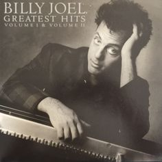 Billy Joel Greatest Hits Volume 1 & 2 1985 Vinyl LP Record Album