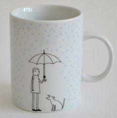 diy inspiration: rain mug