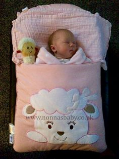 """Baby Erin is such a little cutie-pie. Mummy Stacey said """"Hi Nonna here is 5 week old baby Erin who was only meant to be arriving yesterday. She has absolutely loved sleeping in her cotton candy nap mat since day 1. She's so comfy and cosy and sleeps for hours! Everyone has been so impressed with the mat, it really is the best purchase ever."""" Nonna is thrilled! :-) • Find out more about Nap Mats: https://nonnasbaby.co.uk/baby-nap-mats/"""