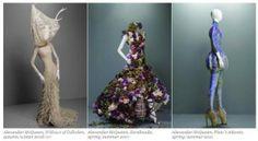 Alexander McQueen creations