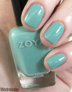 191938017a96 One of my fave shades from the new Zoya Beach Collection for summer