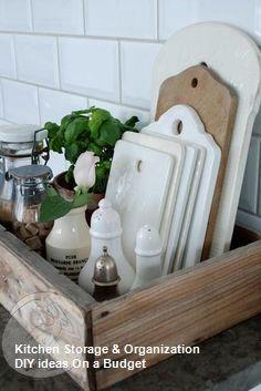 10 Modest Kitchen area Organization And DIY Storage Ideas #kitchenstorage