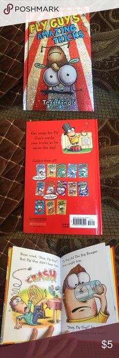 """☃️🎅🏻Fly Guy's Amazing Tricks"""" hardcover book🎉📚 🎅🏻☃️this author and these books are one of my son's favorite books, he loved reading them. This is great book for a gift or to add to your shelf as a nighttime reading book for your child. ☃️🎅🏻 Other"""