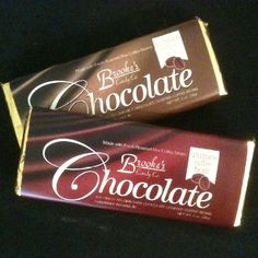Brooke's Candy Chocolate Bars with Rex Coffee Beans