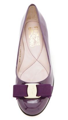 Salvatore Ferragamo Varina Bow Flats Bow Flats, Ballet Beautiful, All  Things Purple, Salvatore fec11e8fc2
