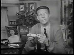 """""""Ozzie and Harriet"""", fabulous 1950s TV. (with opening commercial: Ozzie talking about Kodak Kodacolor) - YouTube"""