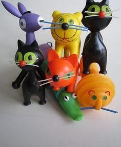 Czechoslovakian toys,design Libuše Niklova