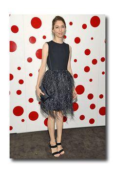 Sofia Coppola in Louis Vuitton July 2012 | blogger.lookonline.com