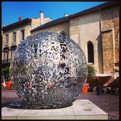 Jaume Plensa - place Camille Julian - Bordeaux