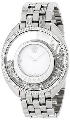 Versace Women's 86Q99D002 S099 Destiny Spirit Steel Bracelet Silver Indexes Watch - Rellek Jewelry