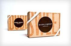 Patrick Enstrom: Dude, Sweet Chocolate Packaging