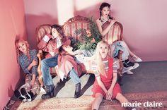 Red Velvet // Marie Claire Korea